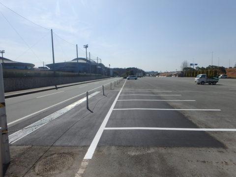 サンアリーナA駐車場舗装修繕工事