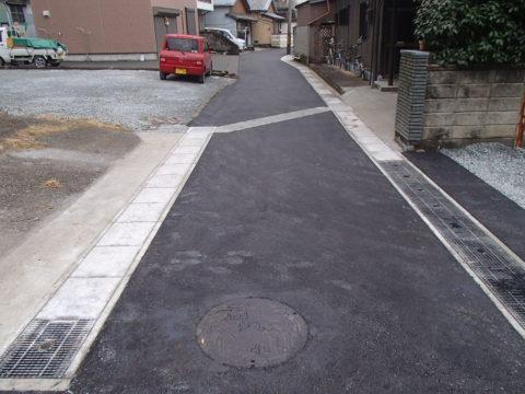 宇治浦田2丁目公道道路改良工事