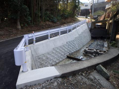 宇治浦田3丁目排水路改良工事