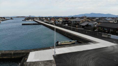 豊北漁港有滝物揚場保全工事
