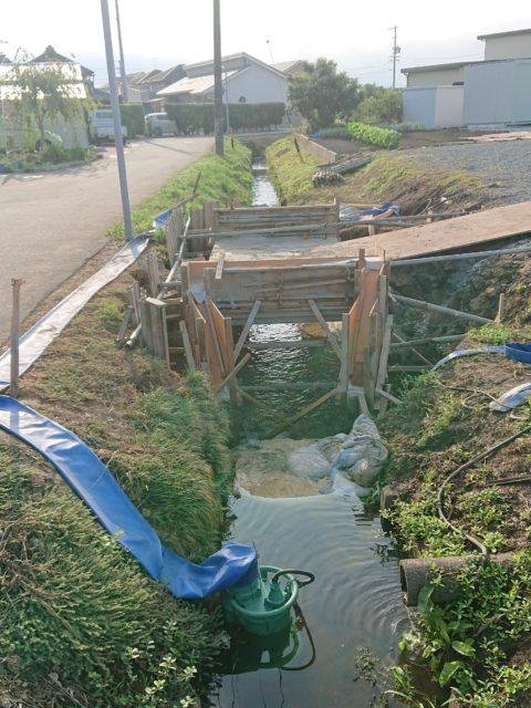 今週の杉山建設【用水路改良工事 玉城町・側溝整備工事 中村町桜が丘】