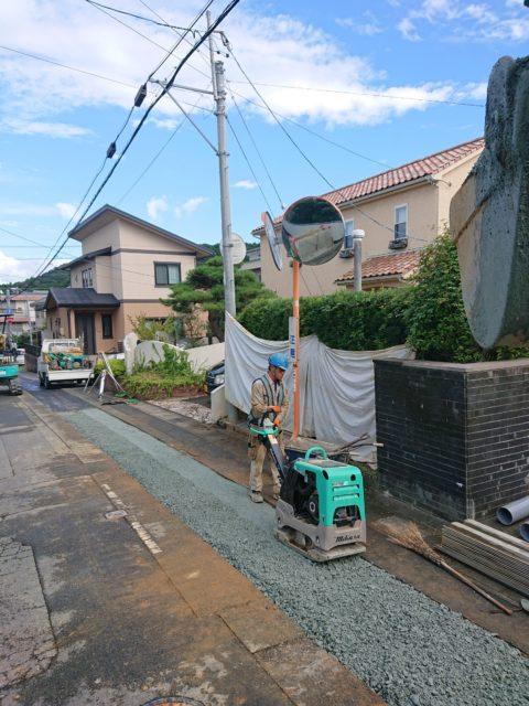 今週の杉山建設【下水道工事・伊勢市浦口町】