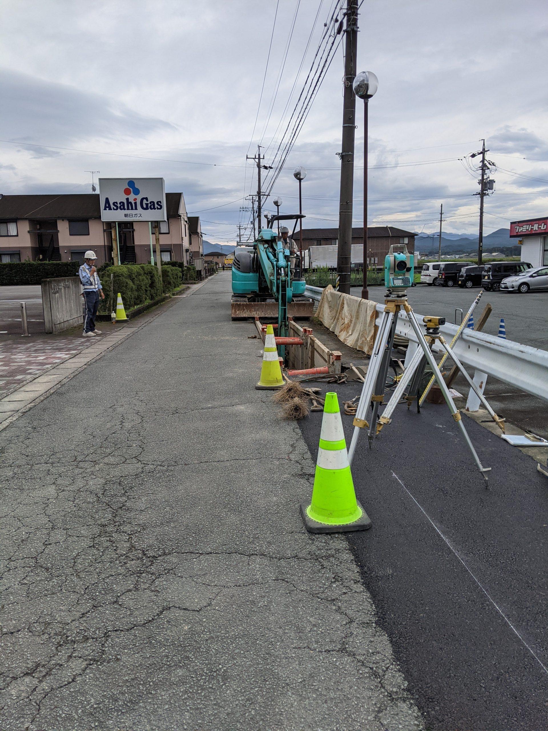 今週の杉山建設【 伊勢市上地町・下水道工事】